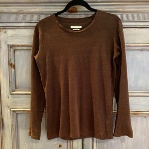 Isabel Marant Etoile brown linen sweater size XS